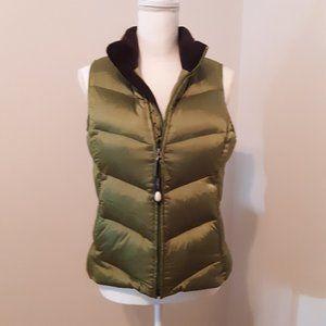 Eddie Bauer Down Puffer Vest Size S